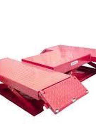 Подъёмник ножничный пневматический усиленный AIRKRAFT