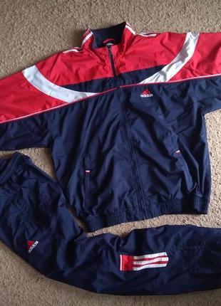 Спортивный костюм adidas xl l мужской винтаж адидас