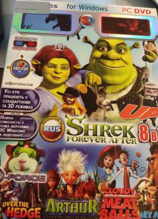PC DVD SHREK Любимая детская игрушка (Лицензия)