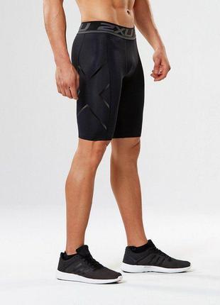 Мужские компрессионные шорты 2xuдля бега велосипедиста атлетики