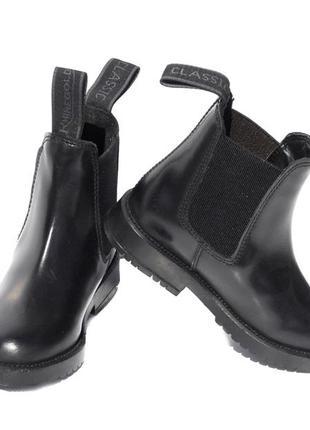 Кожаные ботинки демисезонные rhinegold classic