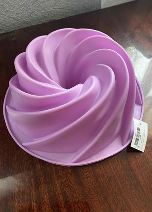 Большая силиконовая форма для желейных тортов и кексов фигурна...