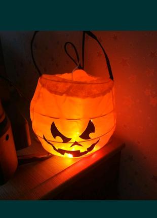 Декор для дома, тыква,сумка, хеллоуин