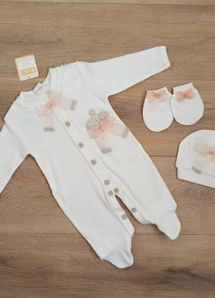 Нарядный комплект для новорожденных