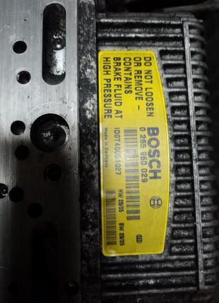 Abs, Блок управления двигателем, Блок коробки,  Усилитель торм...