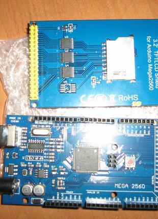 "arduino mega2560 + TFT 480x320 3,2"""