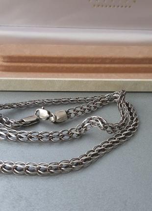 Цепочка серебряная ланцюг в коробке 925 проба 25 грамм серебро...
