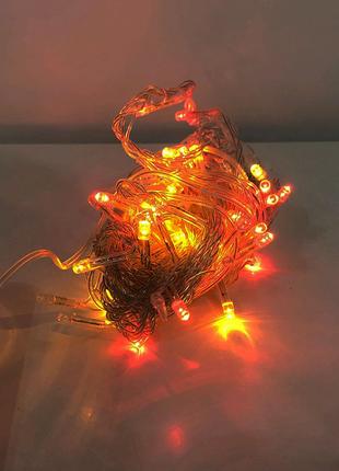 Гирлянда-нить (String-Lights) внутренняя 100M-1 разноцветная (про