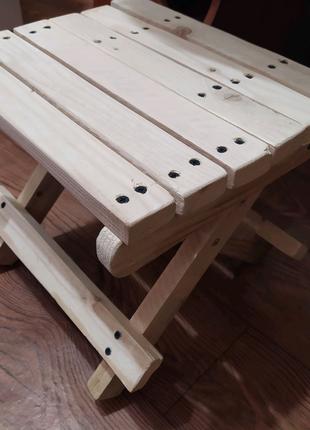 Продам складний дерев'яний стілець
