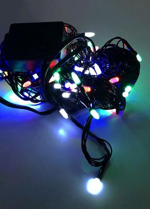 Гирлянда-нить String-Lights внутренняя разноцветная