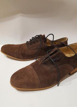 Мужские туфли замша play motives португалия
