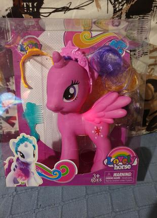 Лошадка my little pony