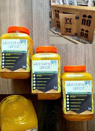 Масло воск для обработки дерева, масло-воск, масловоск