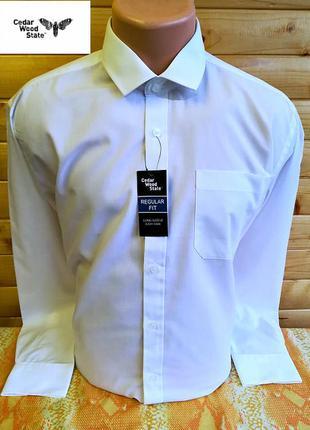 Элегантная  нарядная белая рубашка бренда из великобритании ce...