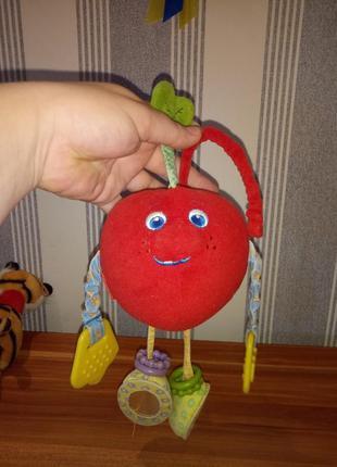 Игрушка-подвеска волшебное яблоко tiny love