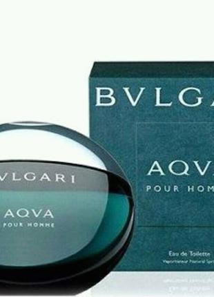 Мужская туалетная вода Bvlgari aqva pour homme 100ml