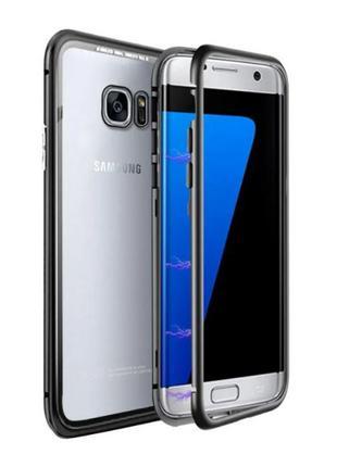Magnetic case (магнитный чехол) для Samsung Galaxy S7 Edge