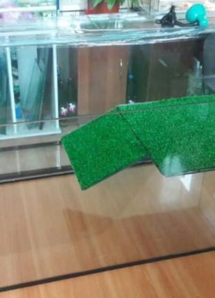 Новый террариум (аквариум) с мостиком для черепахи 75см-38см-4...