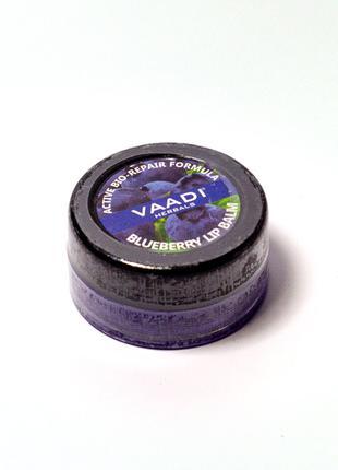 Бальзам для губ с ароматом черники (VAADI herbals) 6 г