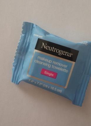 Очищающая салфетка для снятия макияжа neutrogena makeup remove...