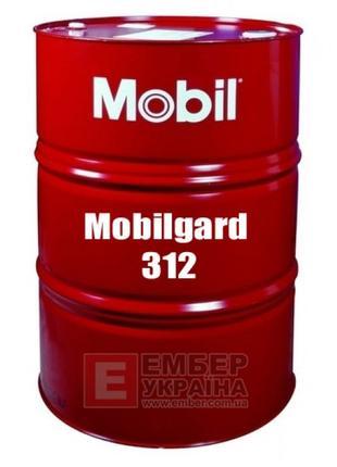 Масло моторное Mobilgard 312 SAE 30. Объем 23л.