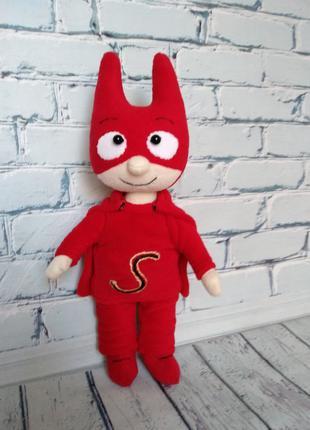 Самсам, супергерой из мультфильма, мягкая игрушка