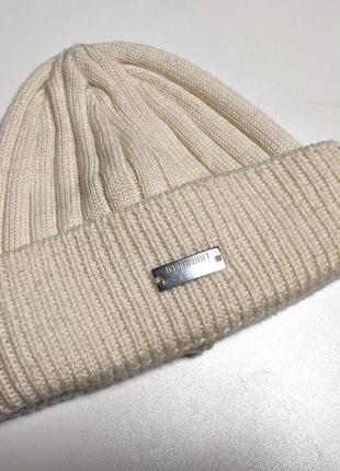 Karl lagerfeld оригинальная шапка бени beanie короткая под уши