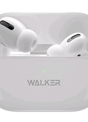 Наушники Bluetooth WALKER WTS-70 white (копия airpods pro)