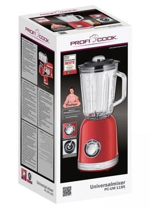 Блендер PROFI COOK PC-UM 1195 Red