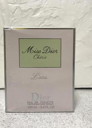 Туалетная вода/Парфюм Christian Dior Miss Dior Cherie L`Eau 100ml