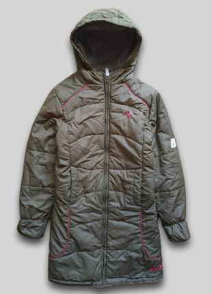 Удлиненная куртка jack wolfskin оригинал