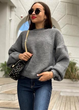 Свитер, женский свитер, логнслив