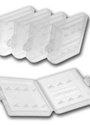 Пластиковый бокс для АА-ААА аккумуляторов Tenergy (бесцветный)