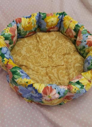 лежанка лежак спальное место для кошек и собак размер 50×50