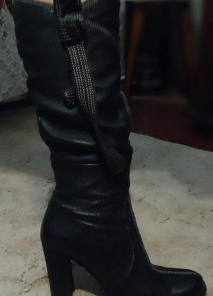 Сапоги кожаные medea 38р