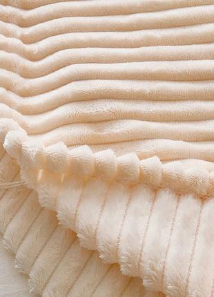 Плед из микрофибры мягкий теплый