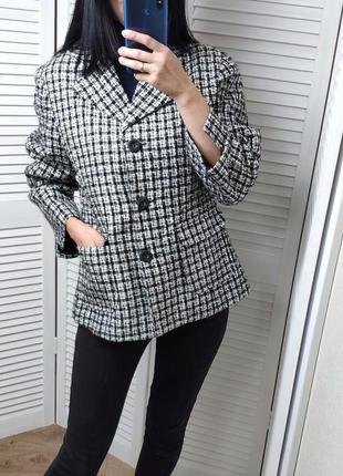 Пиджак в клетку visa outfit