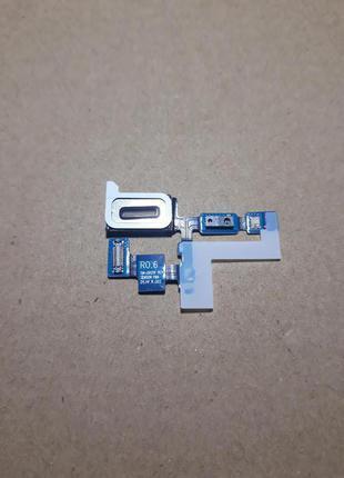 Шлейф для Samsung G925F Galaxy S6 EDGE, динамика, c датчиком
