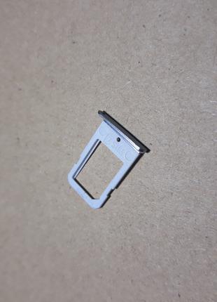 Сим-лоток Samsung S6 Edge SM-G925F Silver