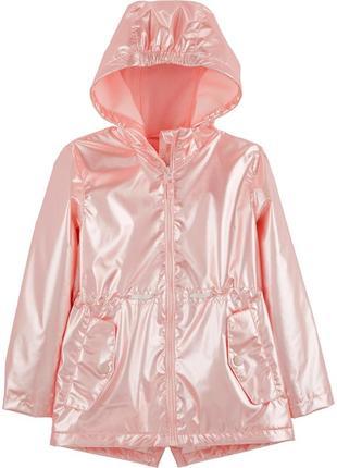 Красивая перламутровая куртка oshkosh