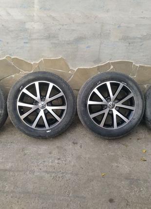 Диски VW  Jetta mk6 R16 титаны колёса джетта мк 6 разборка шрот