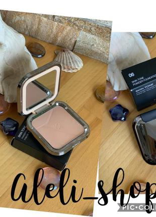 Компактная пудра kiko milano skin tone powder foundation 06