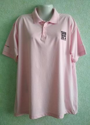 Тенниска мужская, розовая и мягкая. 100%cotton. бирок нет.