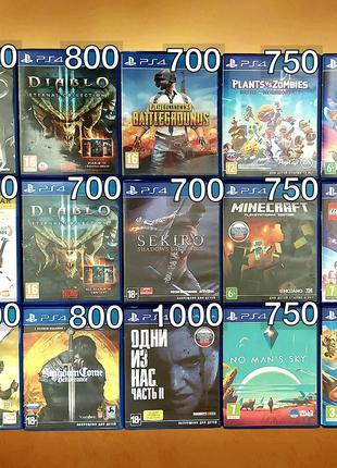 Игра Minecraft и другие/диски/игры/ps4/Sony Playstation/детские