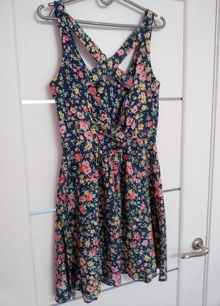 Милейшее цветочное платье сарафан летняя  распродажа -30% на в...