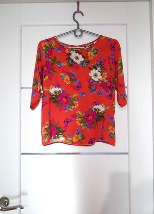 Летний топ блуза от peacocks летняя распродажа -30%