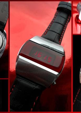 ПЕРВЫЕ СОВЕТСКИЕ электронные часы, ЭЛЕКТРОНИКА-1 мужские, гаджет