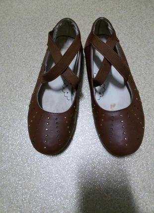 Туфли балетки для девочки тм umi