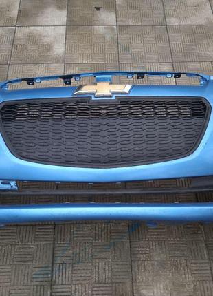 Бампер Chevrolet Spark Ravon R2 передний Шевроле Спарк Равон Р2