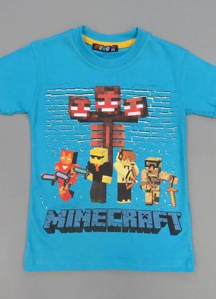 Футболка Minecraft для мальчика